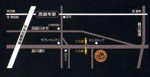 西調布店地図