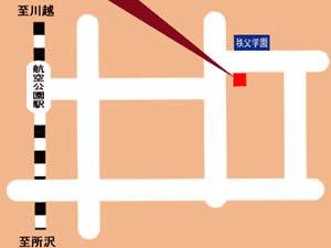所沢店地図